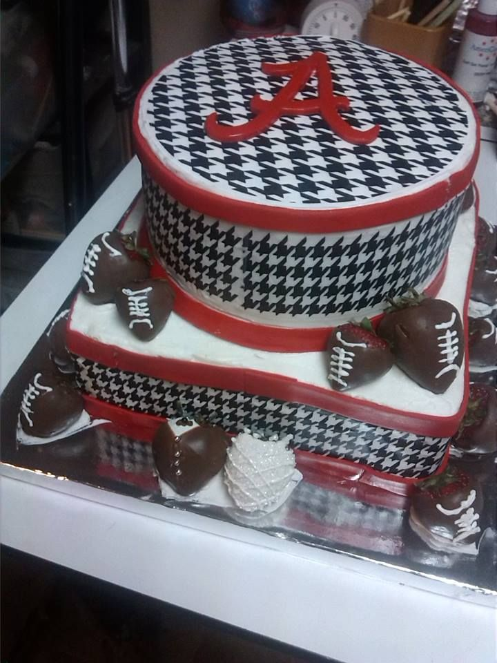 10 Alabama Crimson Tide Grooms Cakes Photo Alabama Crimson Tide