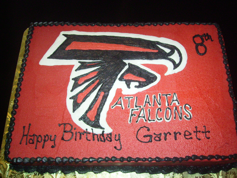Atlanta Falcons Birthday Cake
