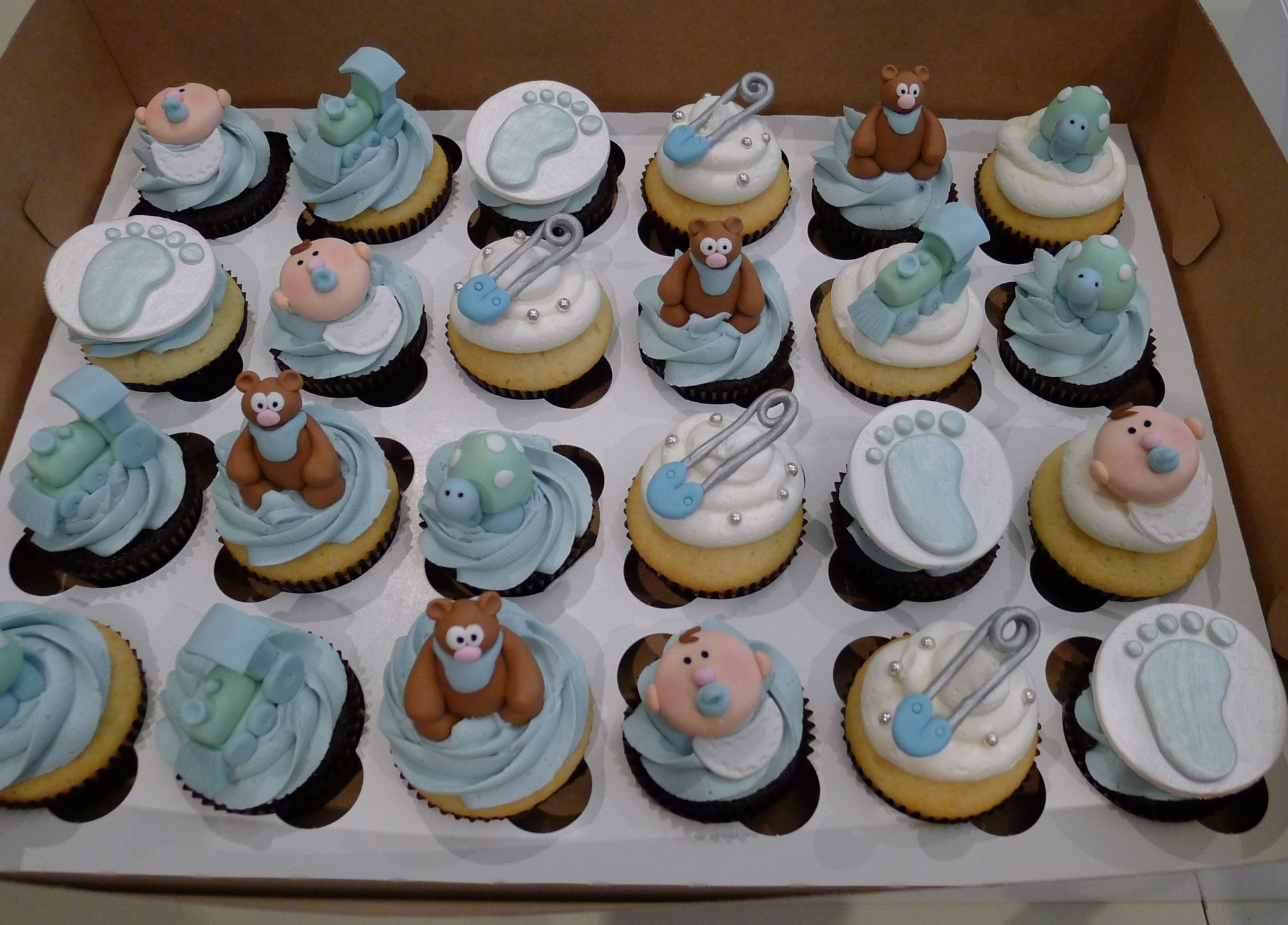 The Best Baby Boy Shower Cupcake Ideas Zachary Kristen