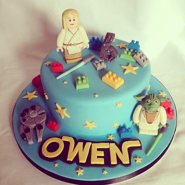 Birthday Cake Luke Skywalker