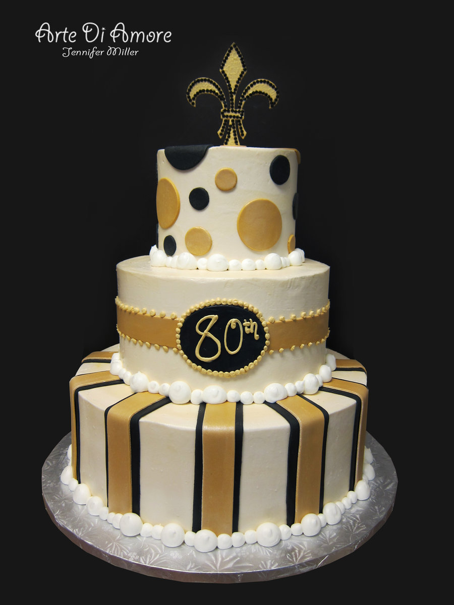 11 Black And Gold 16th Birthday Cakes Photo - Black White and Gold ...
