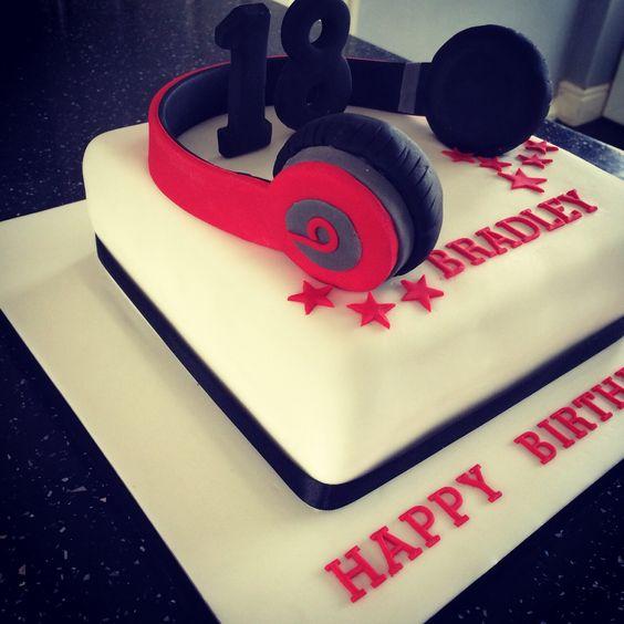 Boys Birthday Cakes For 18th