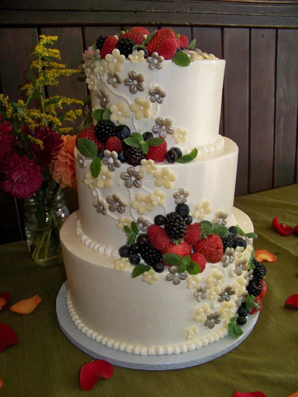 12 Fruit Cake Wedding Cakes Photo Fresh Fruit Wedding Cake - Fresh Fruit Wedding Cake