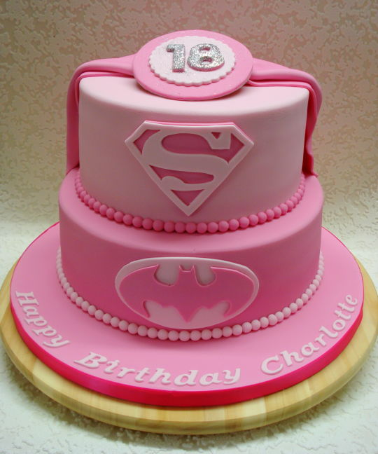 Cool 9 Super Girls Birthday Party Round Cakes Photo Super Hero Girls Funny Birthday Cards Online Aeocydamsfinfo