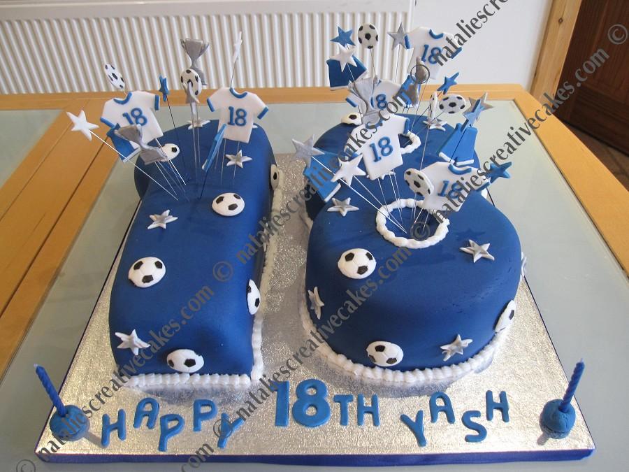 Happy 18th Birthday Cake Boys