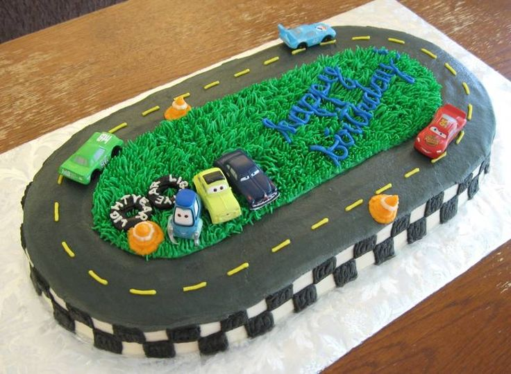 Awe Inspiring 12 Dirt Track Race Car Cakes Photo Dirt Track Racing Birthday Funny Birthday Cards Online Aboleapandamsfinfo
