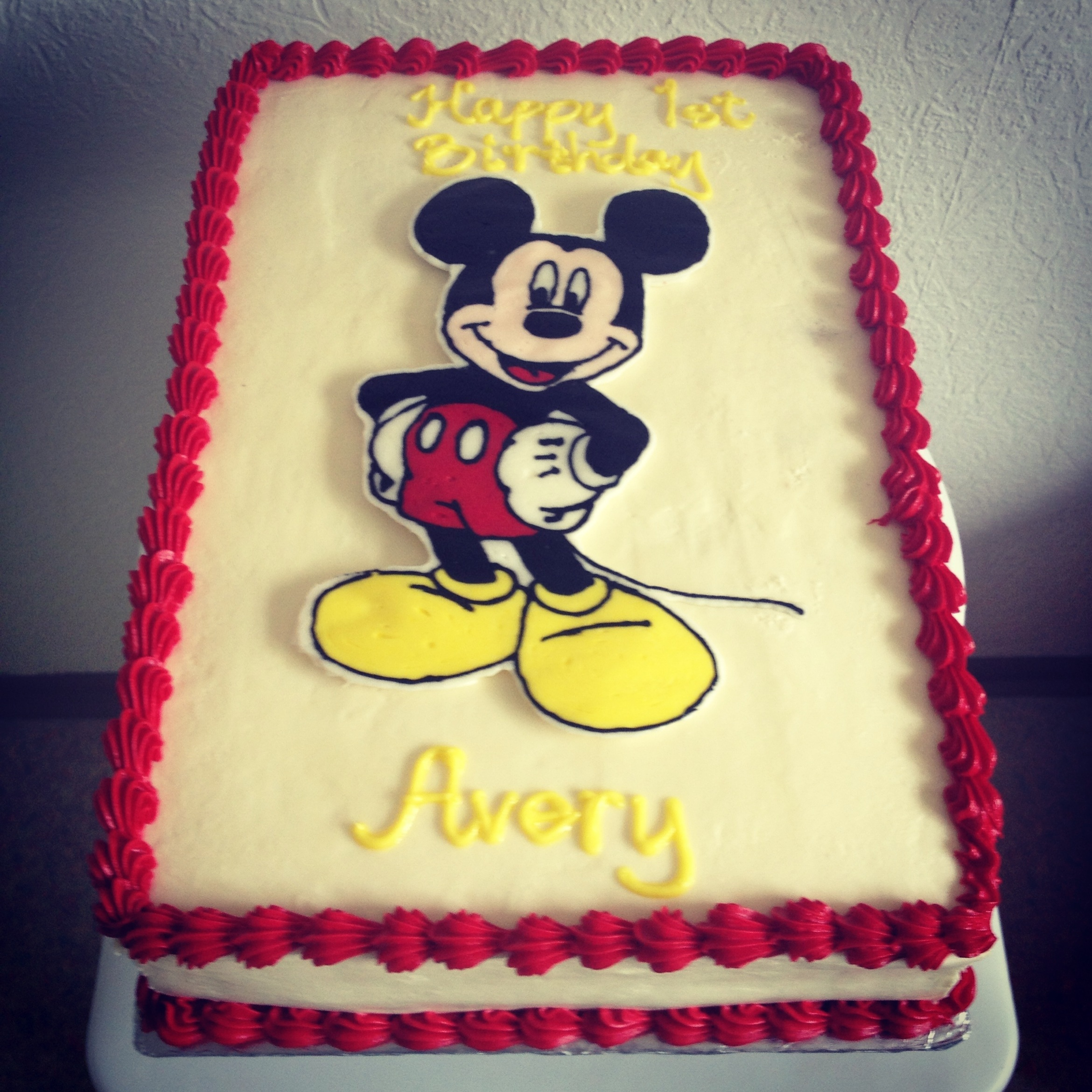 5 Mickey Mouse Cakes That Have Photo Mickey Mouse Cake Mickey
