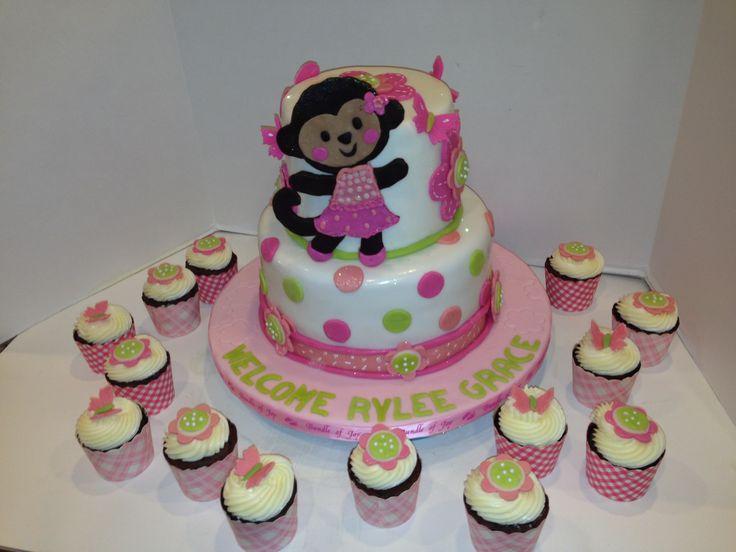 12 Baby Shower Ideas Monkey Cupcakes Photo Monkey Baby Shower