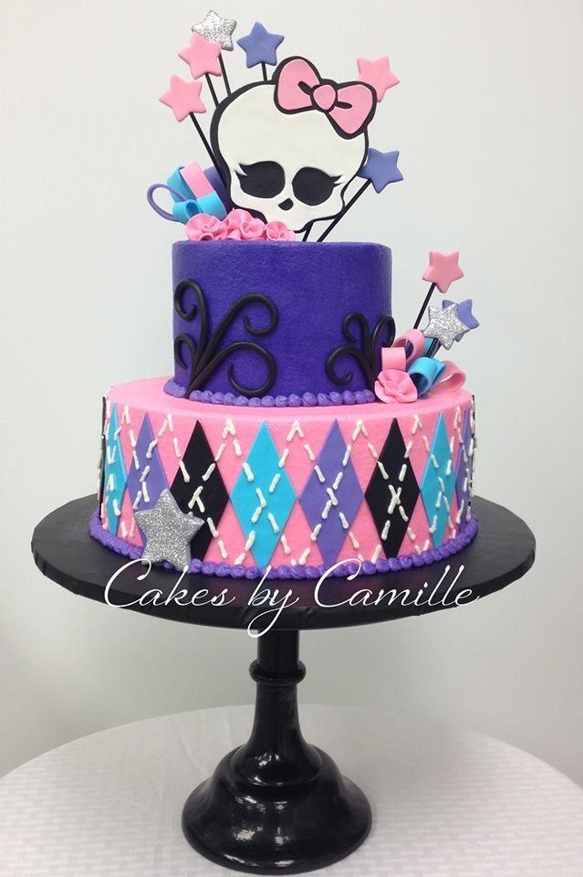8 Boys Monster High Cakes Photo Monster High Birthday Cake For
