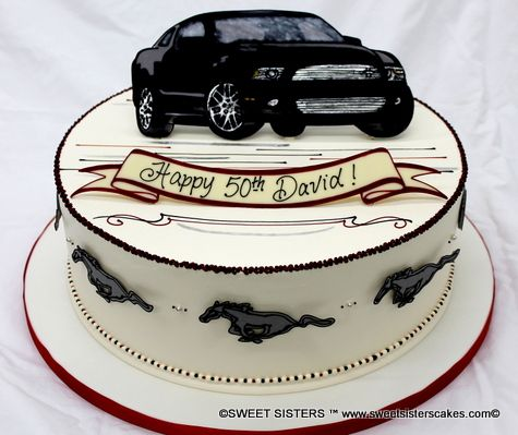 12 Mustang Car Cakes For Men Photo Shelby Mustang Cake Cars