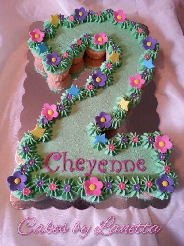9 Number Birthday Cake Cupcakes Photo Number 2 Cupcake Cake