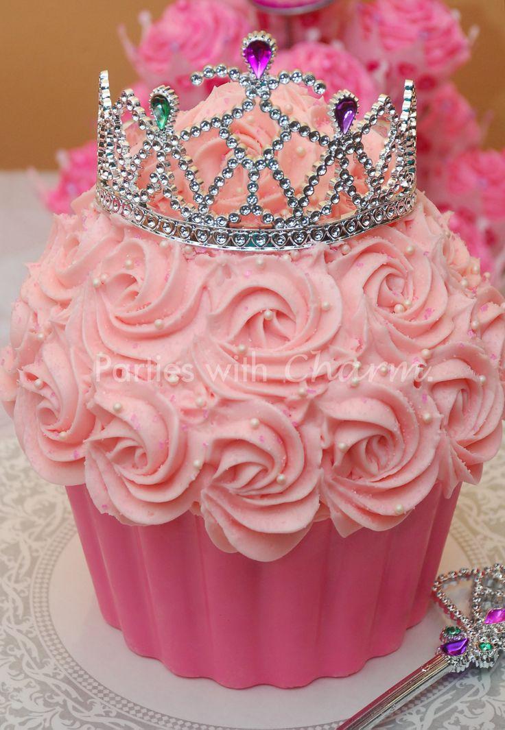 Princess Baby Shower Cake Cupcakes