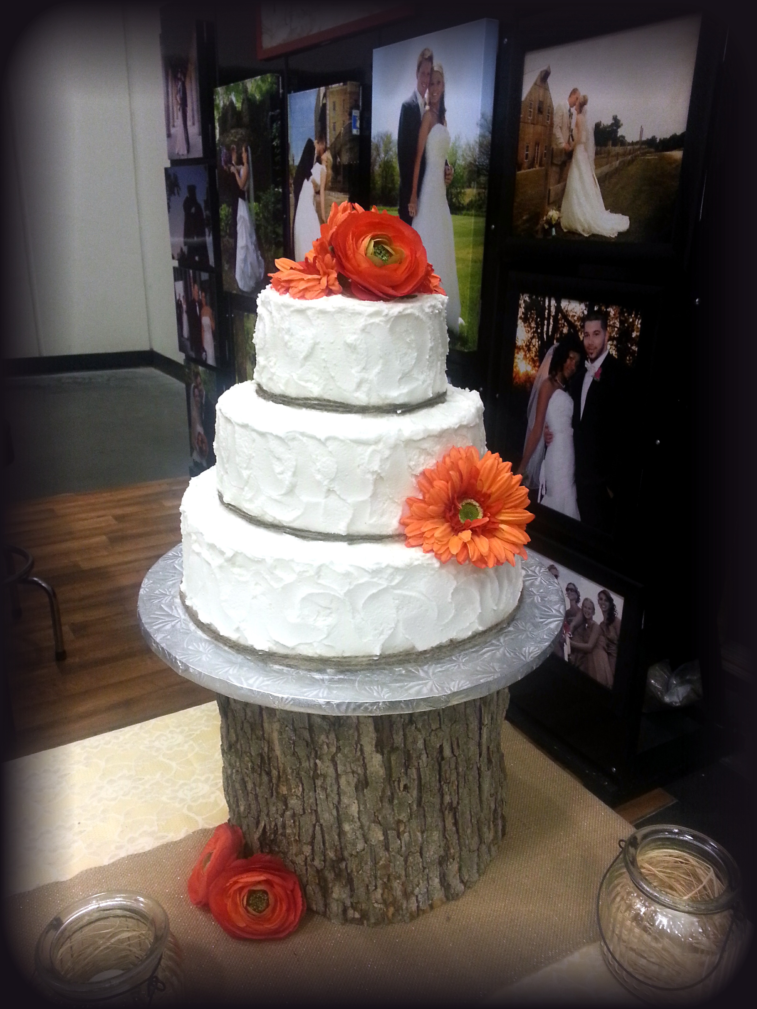 11 Simple Rustic Fall Wedding Cakes Photo - Rustic Fall Wedding Cake ...