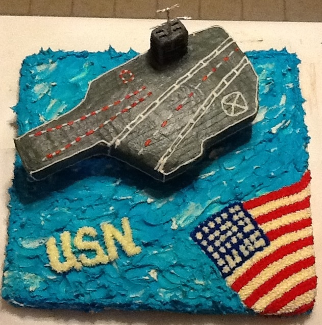 Astounding 12 Us Navy Aviation Cakes Photo United States Navy Birthday Cake Funny Birthday Cards Online Fluifree Goldxyz