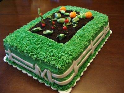 9 Garden Designs With Cakes Photo - Garden Birthday Cake Ideas ...