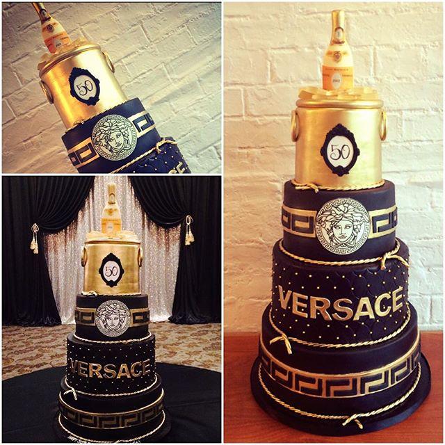 10 Versace Birthday Party Cakes Photo Versace Birthday Cake