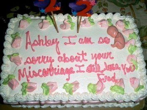 Wondrous 9 Worlds Worst Cakes Photo Worst Wedding Cakes Worst Happy Funny Birthday Cards Online Alyptdamsfinfo