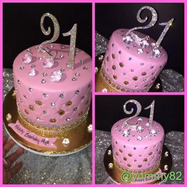 1 Tier Birthday Cake