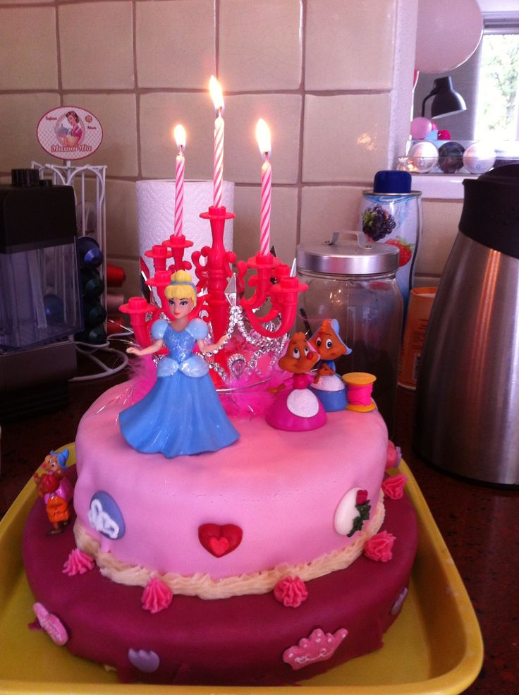 5 Birthday Cakes For 4 Yr Old Girl Photo 3 Year Old Girl Birthday