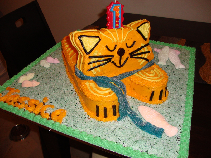Tremendous 6 Cat Cakes From Africa Photo African Birthday Cake Cat Funny Birthday Cards Online Overcheapnameinfo