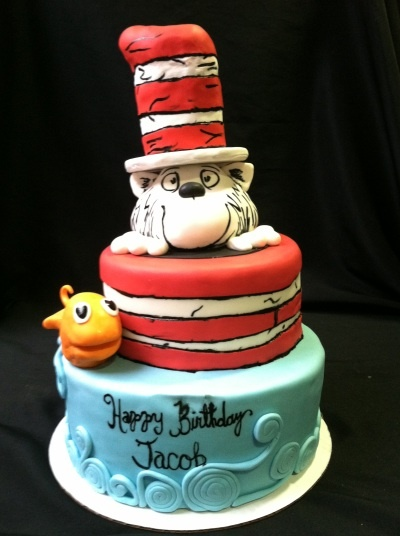 83 1st Birthday Cat In The Hat
