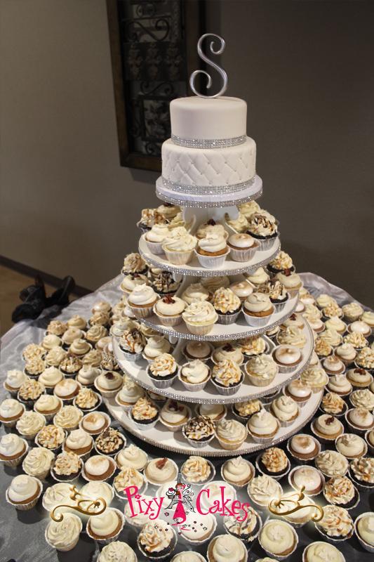 Brilliant 11 Beautiful Birthday Cakes Cup Cake Tower Photo Elegant Wedding Personalised Birthday Cards Beptaeletsinfo