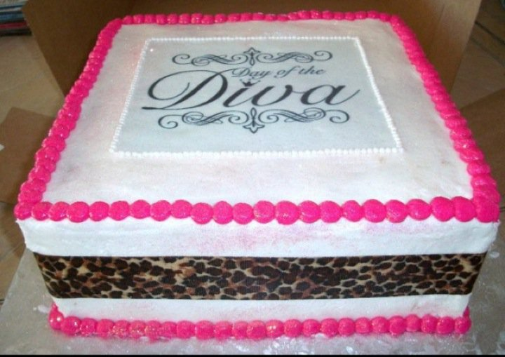 12 Diva Birthday Cakes For Women Photo Diva 60th Birthday Cake
