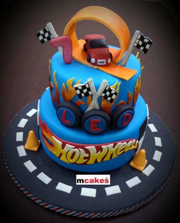 9 Hot Wheels Cakes Birthday Cakes Photo Hot Wheels Birthday Cake