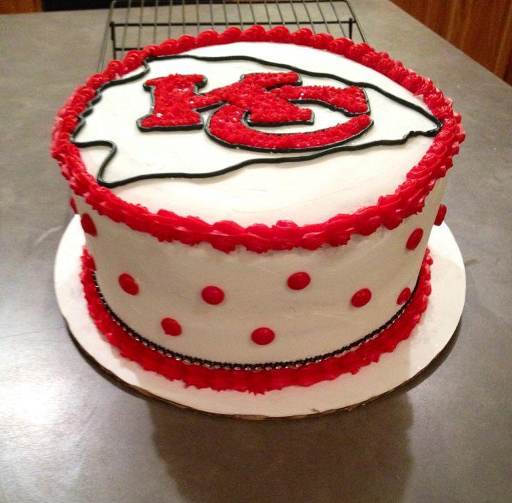 Super 13 Kansas City Chiefs Football Birthday Cakes Photo Kansas City Funny Birthday Cards Online Elaedamsfinfo