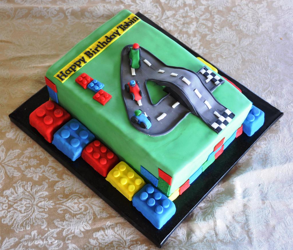 Super 10 Lego Cool Cars Cakes Photo Lego Birthday Cake Idea Lego Race Funny Birthday Cards Online Fluifree Goldxyz
