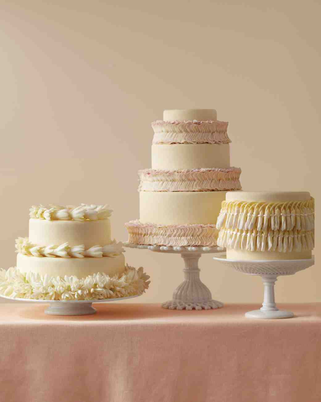 Martha Stewart Wedding Cake