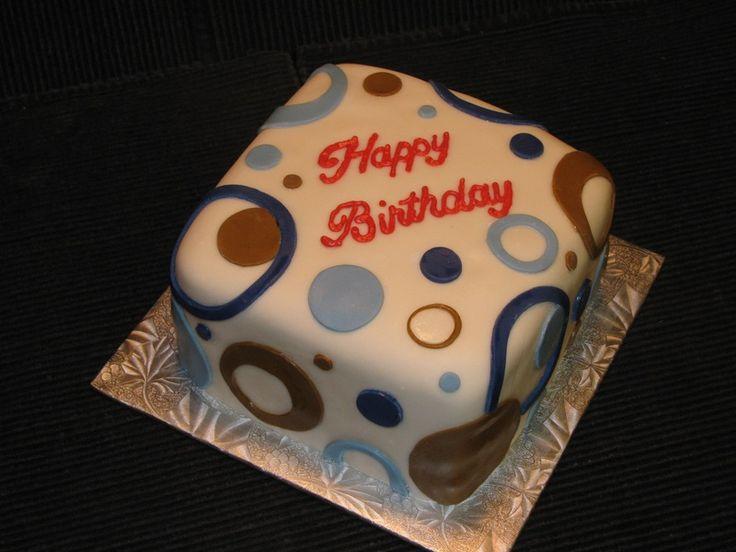 9 Masculine Birthday Cupcakes Photo Masculine Birthday Cupcake