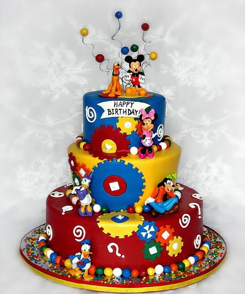Stupendous 10 Disney Cakes For Boys Photo Mickey Mouse Clubhouse Birthday Funny Birthday Cards Online Elaedamsfinfo