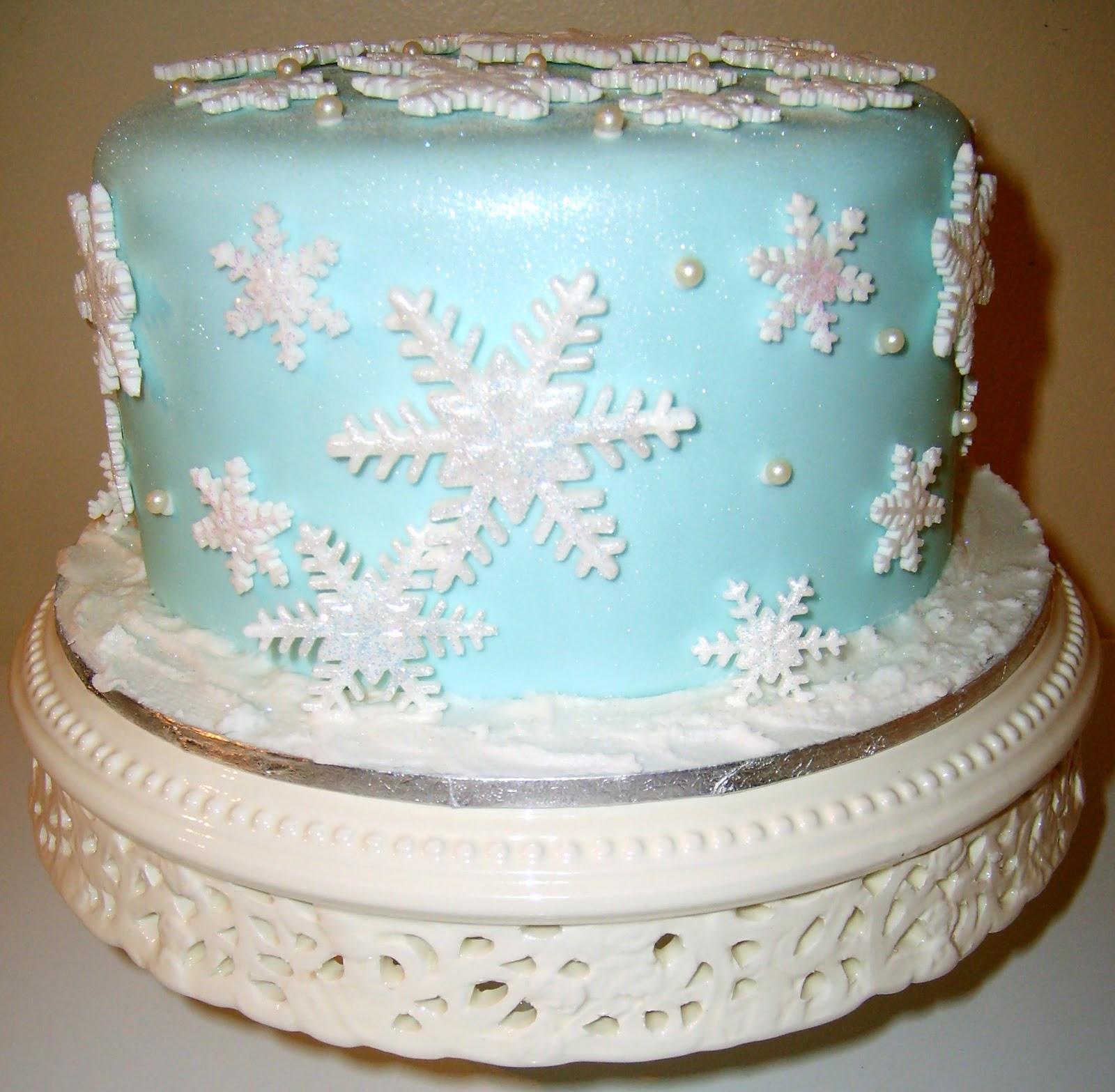 Magnificent 8 Snowflake Birthday Cakes Buttercream Photo Birthday Cake Funny Birthday Cards Online Fluifree Goldxyz