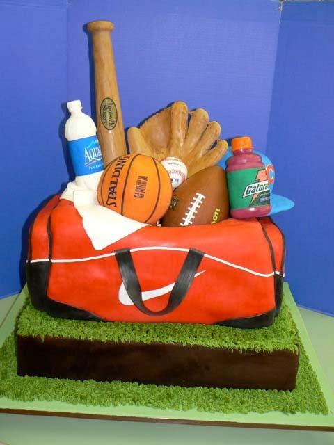 Miraculous 11 Sports Cakes For Men Photo Sports Birthday Cake Sports Birthday Cards Printable Benkemecafe Filternl