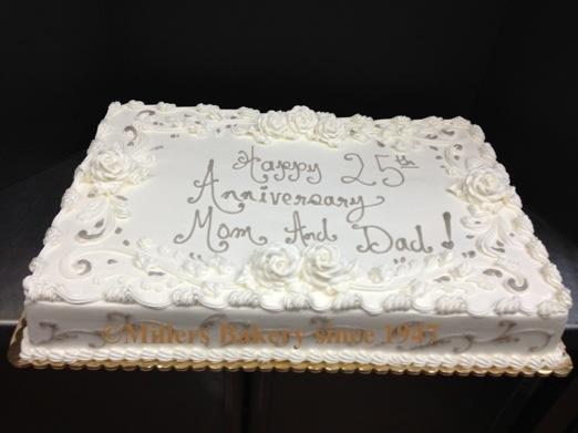 50th wedding anniversary sheet cakes - Wedding Cake Ideas