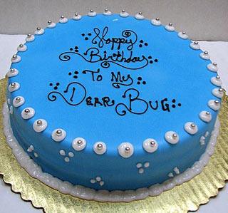 Writing On Birthday Cake