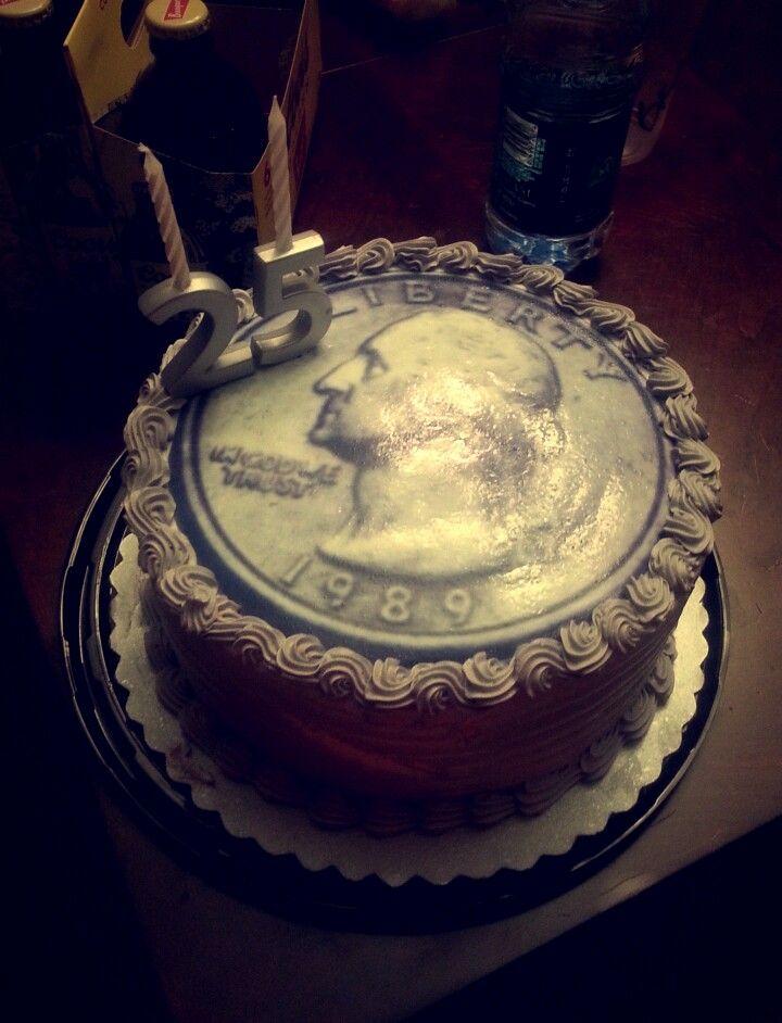 25th Birthday Cake Idea