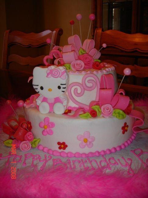 10 Hello Kitty Birthday Cakes 10 Year Old Girl Photo 5 Year Old