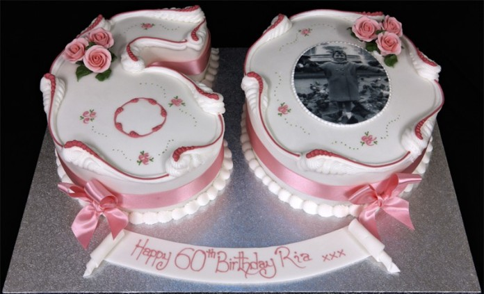 Tremendous 11 Womens 60Th Birthday Cakes Photo 60Th Birthday Cake Ideas Birthday Cards Printable Riciscafe Filternl