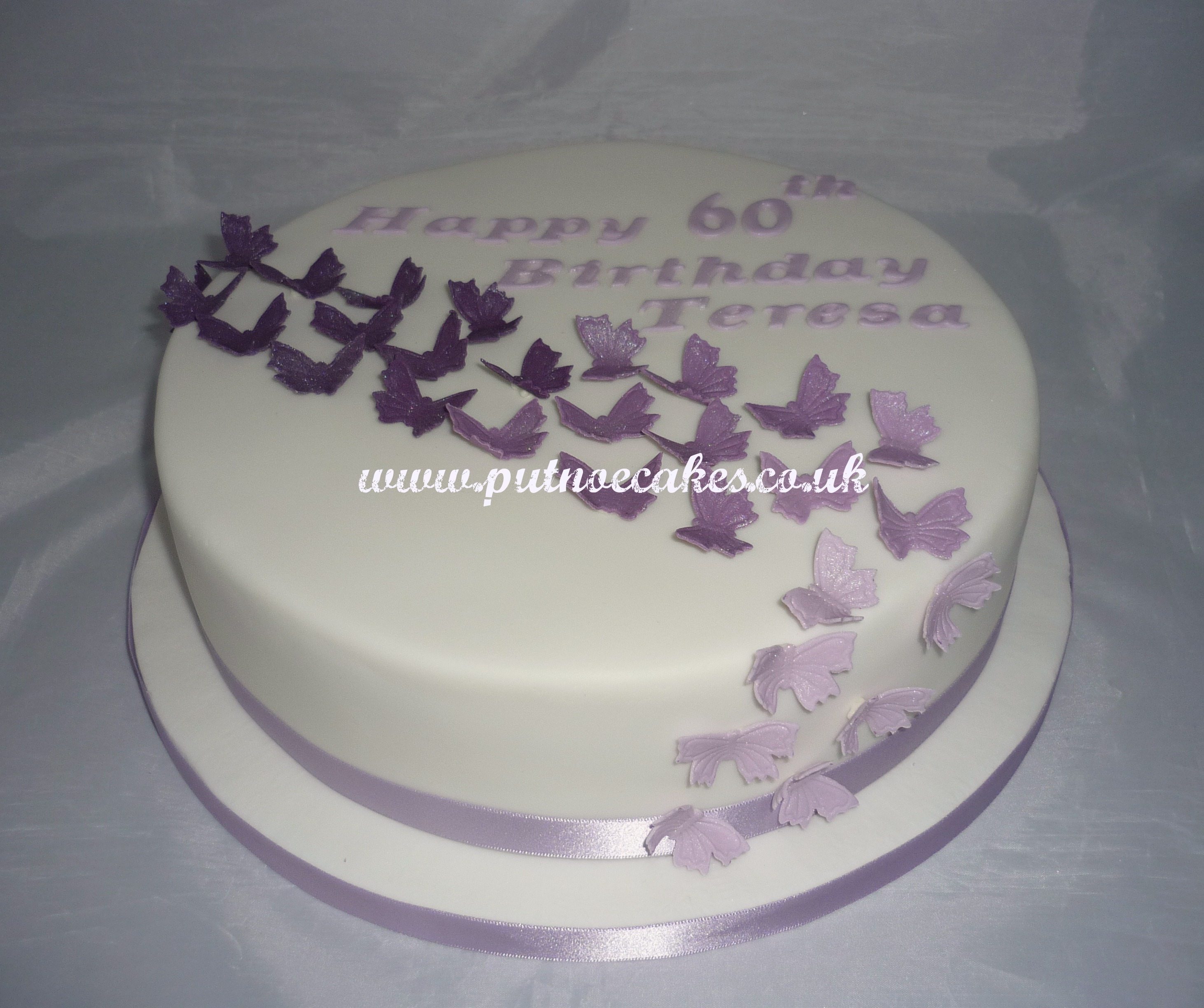 60 And Fabulous Birthday Cake Topper For Women Classy 60th