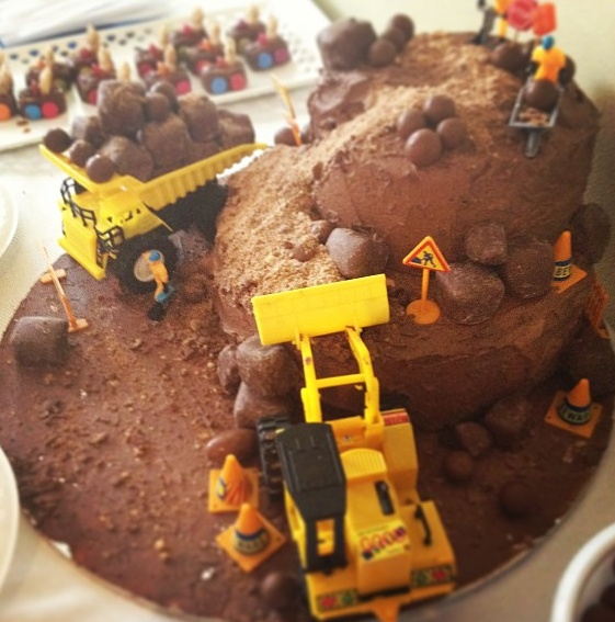 11 Dozer Birthday Cakes Photo Bulldozer Cake Instructions