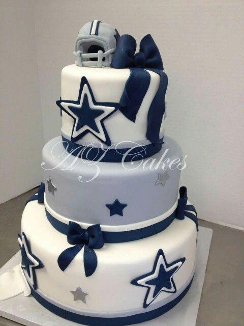 8 Cowboys Football Birthday Cakes For Men Photo Dallas Cowboys