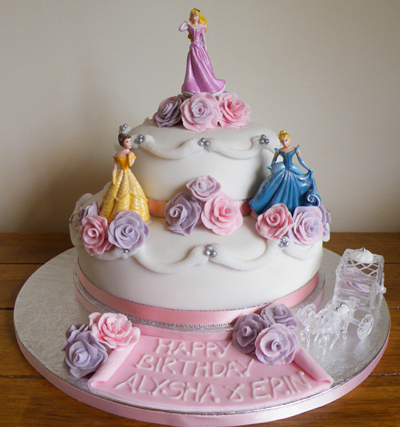 Disney Princess Birthday Cakes For Girls
