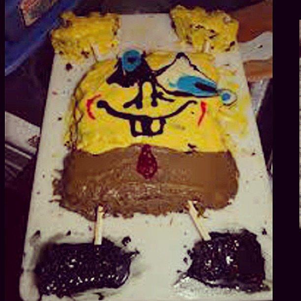 Epic Fail Birthday Cake