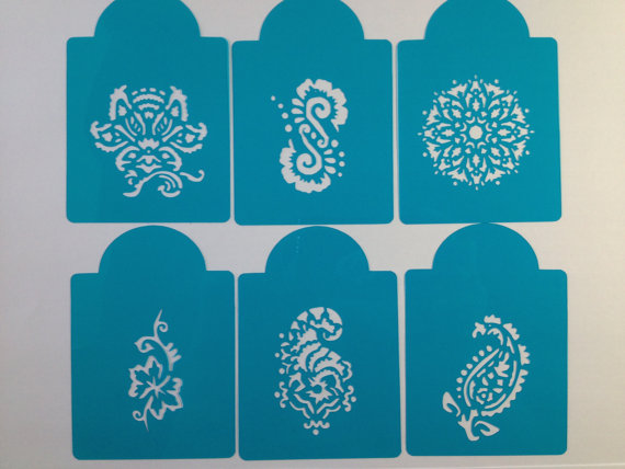 9 Mehndi Stencils For Cakes Photo Henna Stencil For Cake