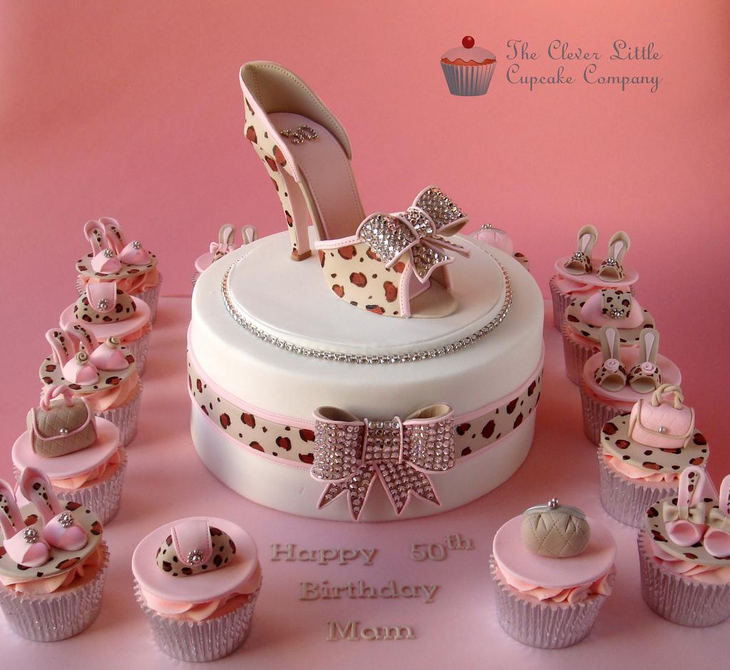 Awesome 9 Handbags High Heel Shoes Cupcakes Photo High Heel Shoe Birthday Cards Printable Inklcafe Filternl