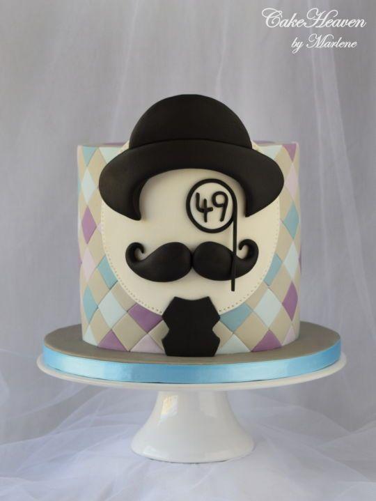 Pinterest Men Birthday Cakes