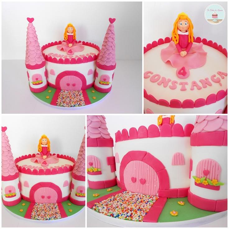 10 Disney Princess Aurora Cakes Photo Princess Aurora Cake