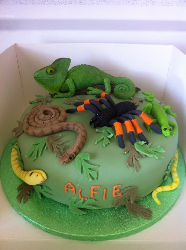 Prime 12 Snake Themed Birthday Cakes Photo Reptile Themed Birthday Funny Birthday Cards Online Overcheapnameinfo